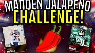 getlinkyoutube.com-Jalapeño Challenge! :- Worst Overall Team Gameplay :- Madden Mobile