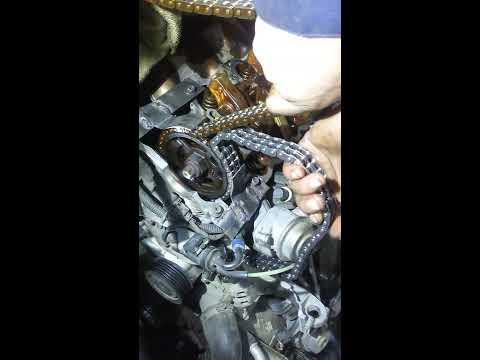 Замена цепи ГРМ 112 мотор Mercedes-Benz