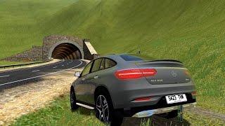 getlinkyoutube.com-City Car Driving 1.5.3 | Mercedes-Benz GLE450 4MATIC | CUSTOM SOUND | [+DOWNLOAD LINK]