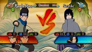 getlinkyoutube.com-Konohamaru vs Sasuke Gameplay Naruto Shippuden Ultimate Ninja Storm Revolution