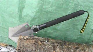 getlinkyoutube.com-SportsTek Combo Shovel / Survival Tool