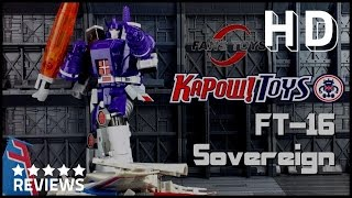 FansToys FT-16 Sovereign Third Party Tranformers Masterpiece Galvatron review