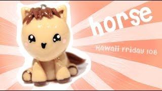 getlinkyoutube.com-◕‿◕ Horse! Kawaii Friday 108 - Tutorial in Polymer clay!