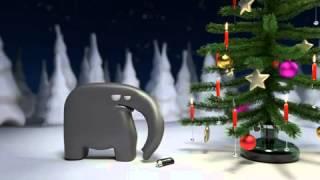 Wenn Elefanten Weihnachten feiern