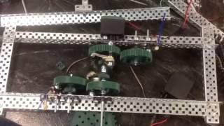 getlinkyoutube.com-Vex single direction dual axle passive transmission