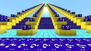 Minecraft BLUE LUCKY BLOCK STAIRCASE CHALLENGE #4 with Vikkstar (Minecraft Lucky Block Mod)