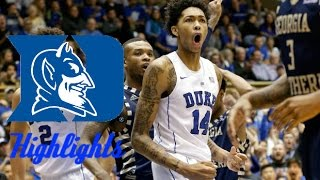 getlinkyoutube.com-Brandon Ingram 2015-16 Duke Highlights- HD
