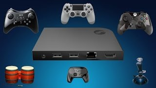 getlinkyoutube.com-Steam Link - Do your PlayStation, Xbox or Wii U controllers work on it?
