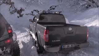 getlinkyoutube.com-Extreme Snow Off Road Defender  Mitsubishi L200 Triton Pajero Nissan Navara