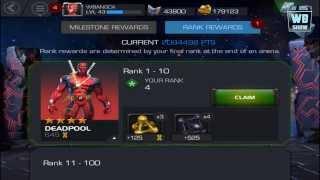 4-Star Deadpool, Superior Iron Man Event - Marvel: Contest of Champions