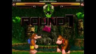 getlinkyoutube.com-Mugen Battle: Banjo-Kazooie vs Donkey Kong