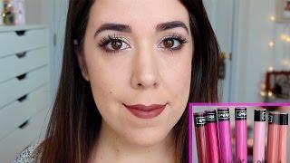 getlinkyoutube.com-Kat Von D Everlasting Liquid Lipstick | Primeras Impresiones