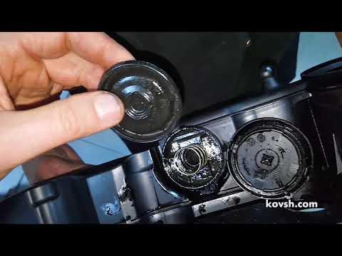 Низкая производительность вентиляции картерных газов = расход и запотевание масла, VW Caddy 2.0d CR