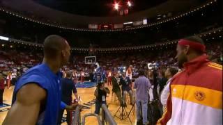 getlinkyoutube.com-LeBron James and Dwight Howard Half-Court Contest