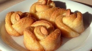 getlinkyoutube.com-Печенье розочки рецепт - Cладкая выпечка