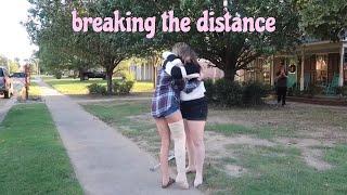 meeting my internet best friend with a broken knee!!!
