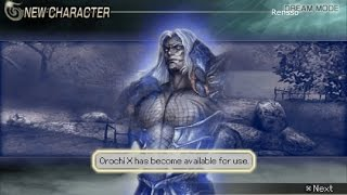 Warriors Orochi 2 - Unlocking Orochi X (Shin Orochi) / The Creation Of Original Background