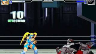 getlinkyoutube.com-MUGEN Battles #32 - R. Mika (me) vs Mech Zangief