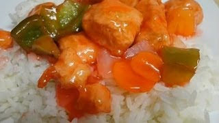 getlinkyoutube.com-Sweet and Sour Chicken - Restaurant Style