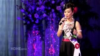 getlinkyoutube.com-Fresno Hmong International New Year 2014 Pageant Introduction - MIM YAJ