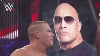WWE- OMG John Cena & The Rock Vs The Miz & R Truth Craziest Full Match