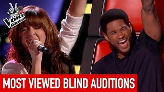 getlinkyoutube.com-The Voice   MOST VIEWED Blind Auditions