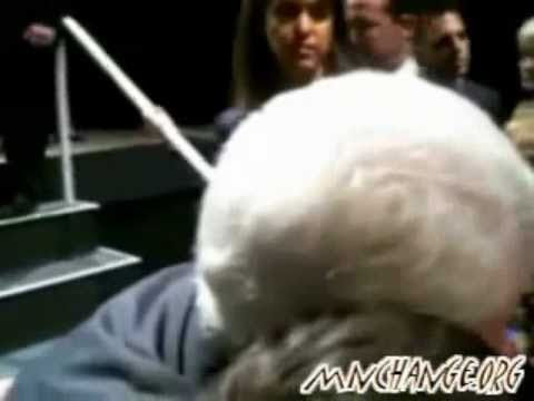 Bill Clinton confronted about the New World Order (NWO)