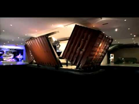 The illy Push Button Shipping Container House -- by Adam Kalkin