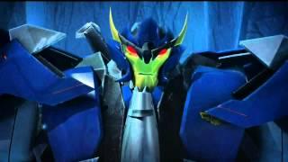 getlinkyoutube.com-TFP: Antarctic Relic : Optimus Prime vs Dreadwing