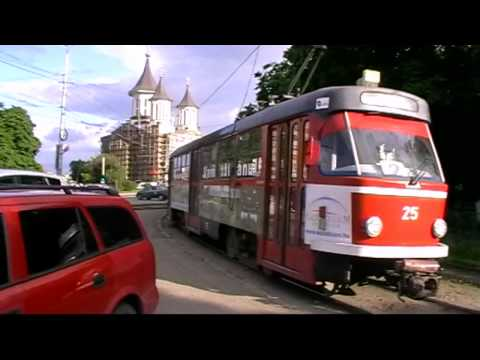 Tramvaie in Oradea vol. 3 - Trams in Oradea vol. 3 (02 06 2010).mp4