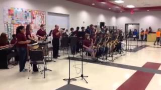 getlinkyoutube.com-Davis Middle School jazz band - Sixth Grade open house