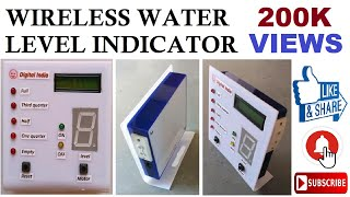getlinkyoutube.com-Vipin8821. Wireless water level indicator.