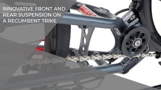 getlinkyoutube.com-Innovative front and rear suspension on a recumbent trike