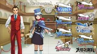 getlinkyoutube.com-Ace Attorney: All Pursuit Themes 2015 (Original and Orchestrated)