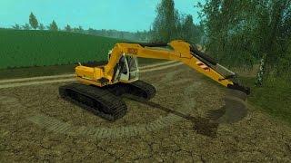 getlinkyoutube.com-LS 15 Modvorstellung - Liebherr excavator