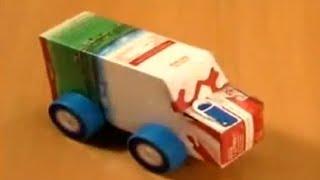 getlinkyoutube.com-Manualidades | Como hacer un coche con reciclaje