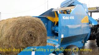Kidd Farm Machinery, 450TC Straw Shredder
