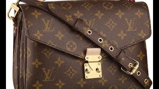 getlinkyoutube.com-Louis Vuitton Review: Pochette Metis