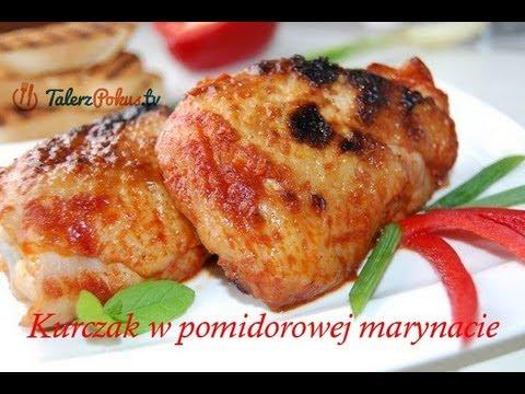 Kurczak w pomidorowej marynacie