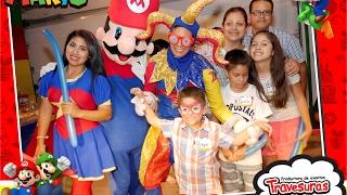 getlinkyoutube.com-Shows Infantiles - Show Mario Bros  - Travesuras Kids