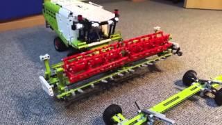 getlinkyoutube.com-Lego Technic Mähdrescher - Claas Lexion 780