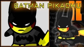 Black Ops 2 - Batman Pikachu Emblem Tutorial
