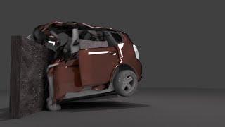 getlinkyoutube.com-Blender tutorial - simple car crash animation (Blender tutoriál - animace destrukce automobilu)