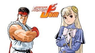 getlinkyoutube.com-Capcom Fighting Jam - Ryu and Ingrid playthrough