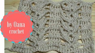 getlinkyoutube.com-Crochet shell braid stitch-by Oana