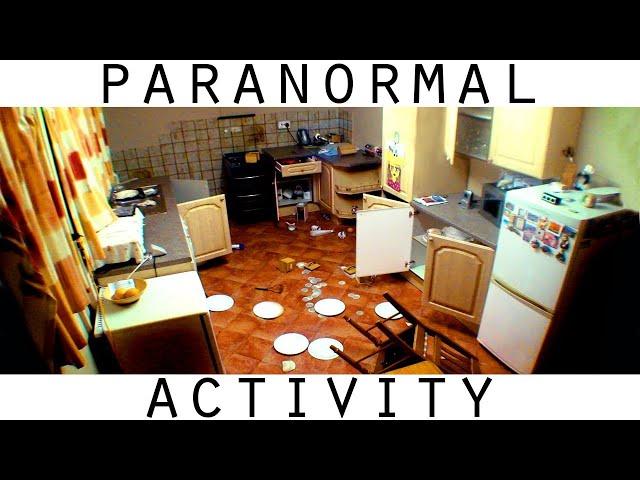 Scary Paranormal Activity. Intense Poltergeist Activity Caught on Video