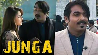 JUNGA Shooting Spot - Vijay Sethupathi's New Comical Look! | Sayeesha | TK  463
