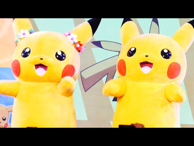 PIKACHU Dance Show - Pokemon Together