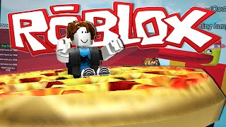 getlinkyoutube.com-Roblox | DRIVING A GIANT PIZZA?!