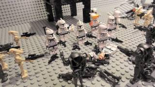 getlinkyoutube.com-LEGO Star Wars Battle of Mygeeto (Brick film)